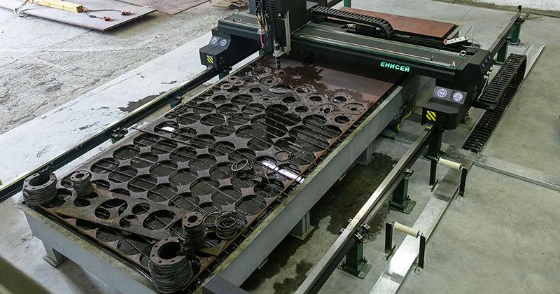 Новые проекты «Енисей» в г. Новосибирске. Металлообработка на производстве из полимерных материалов.